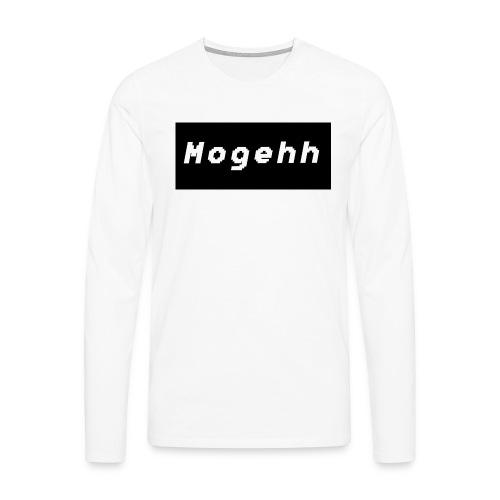 Mogehh logo - Men's Premium Longsleeve Shirt