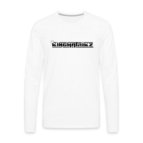 kingmatrikz mk2 - Herre premium T-shirt med lange ærmer