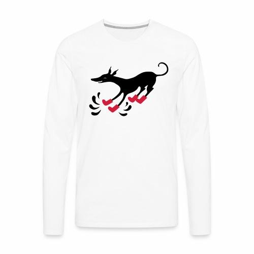 Latakko Loiskis - Miesten premium pitkähihainen t-paita