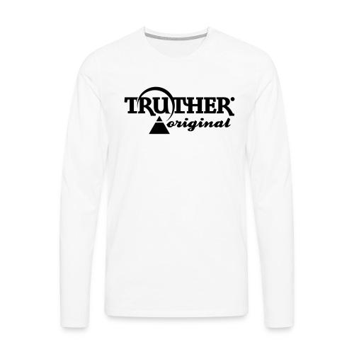 Truther - Männer Premium Langarmshirt