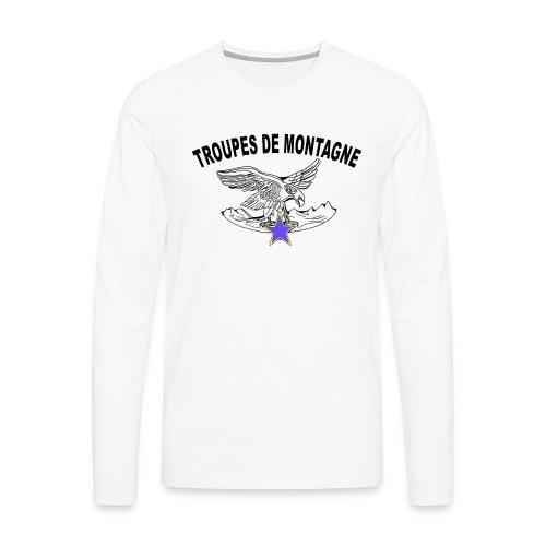 choucasTDM dos - T-shirt manches longues Premium Homme
