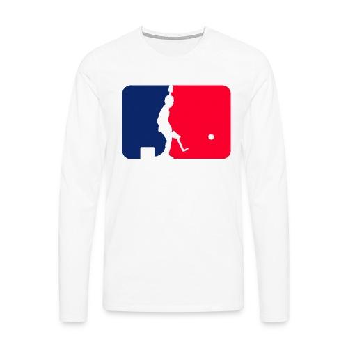 Major League Tipp-Kick Shirt - Männer Premium Langarmshirt