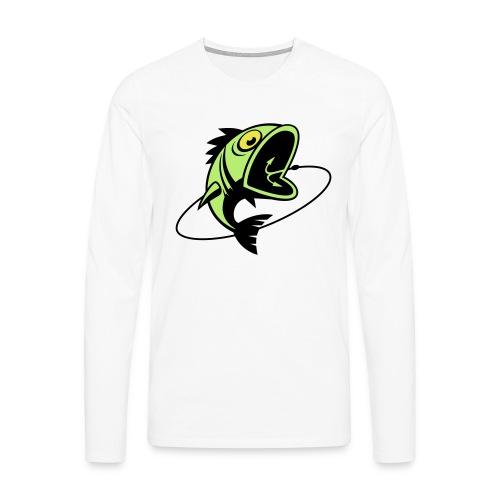 VL107B_BigFish_3c - Männer Premium Langarmshirt