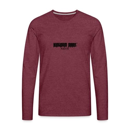Logo_1 - T-shirt manches longues Premium Homme