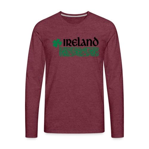 Ireland - Mannen Premium shirt met lange mouwen