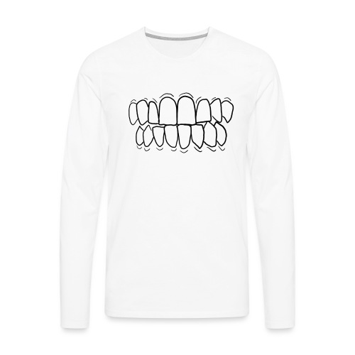 TEETH! - Men's Premium Longsleeve Shirt