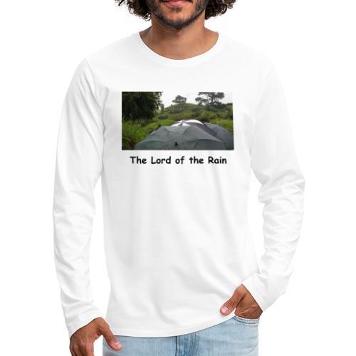 The Lord of the Rain - Neuseeland - Regenschirme - Männer Premium Langarmshirt
