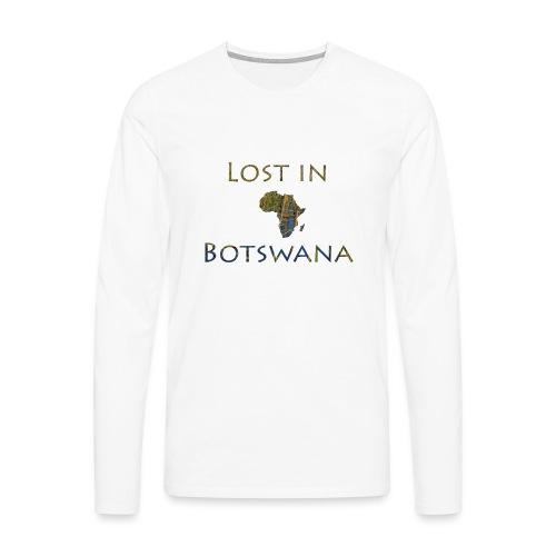 LostinBots - Männer Premium Langarmshirt