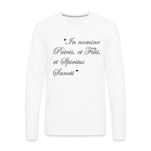 gebed nieuw png - Mannen Premium shirt met lange mouwen