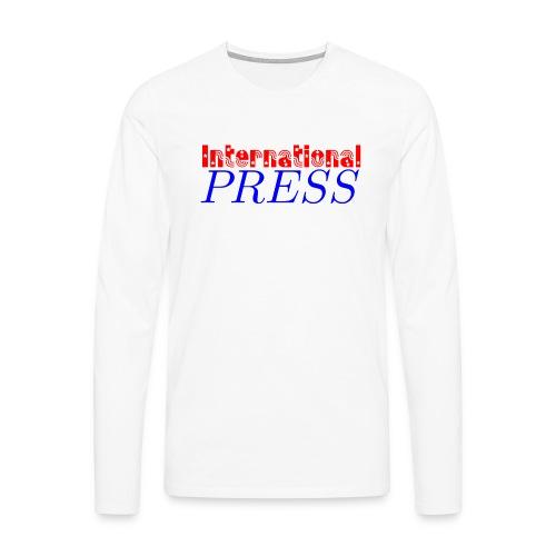 int_press-png - Maglietta Premium a manica lunga da uomo
