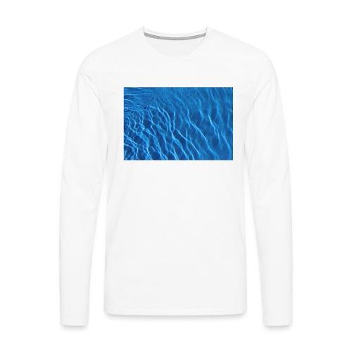 Water t shirt - Premium langermet T-skjorte for menn