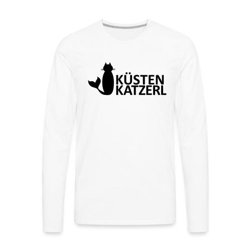 Küstenkatzerl - Männer Premium Langarmshirt