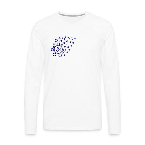 T-Shirt Kugeln - Männer Premium Langarmshirt