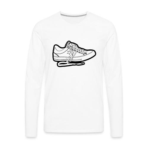 Sneaker - Långärmad premium-T-shirt herr