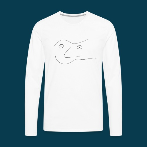 Chabisface Solala - Männer Premium Langarmshirt