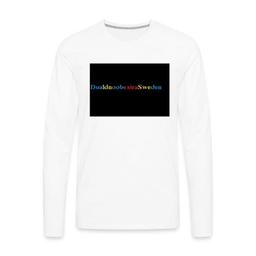 DualdnoobextraSwedens Mugg - Långärmad premium-T-shirt herr