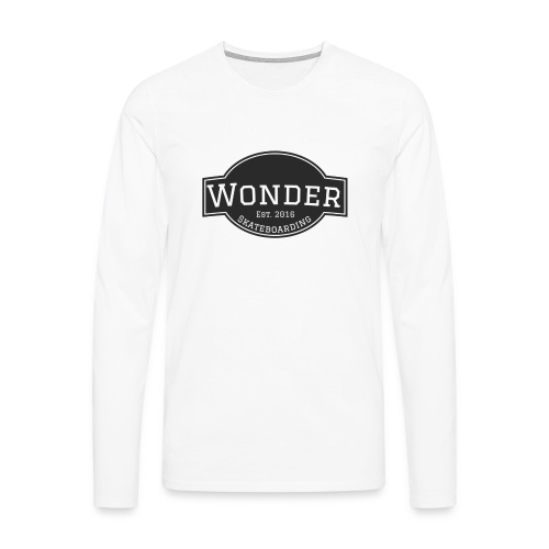 Wonder T-shirt - ol' small logo - Herre premium T-shirt med lange ærmer