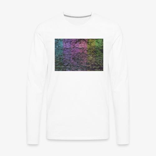 Regenbogenwand - Männer Premium Langarmshirt