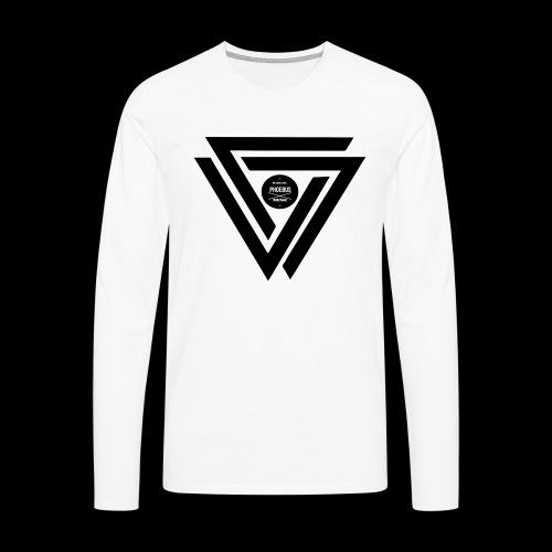 07logo complet black - T-shirt manches longues Premium Homme