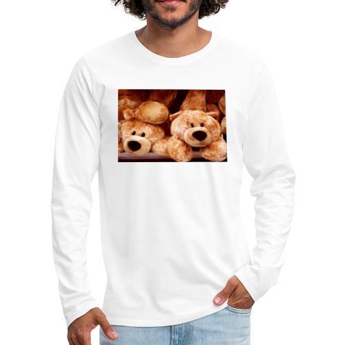 Glücksbären - Männer Premium Langarmshirt