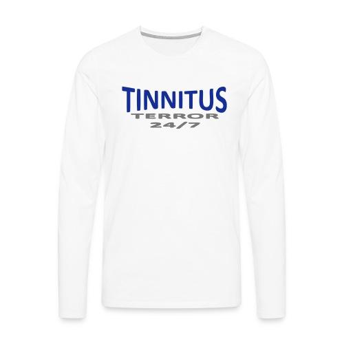 terror - Premium langermet T-skjorte for menn