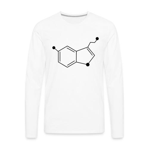 Serotonine - Maglietta Premium a manica lunga da uomo