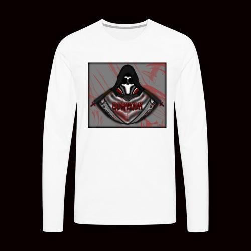 SoWeQDK Reaper ! - Herre premium T-shirt med lange ærmer