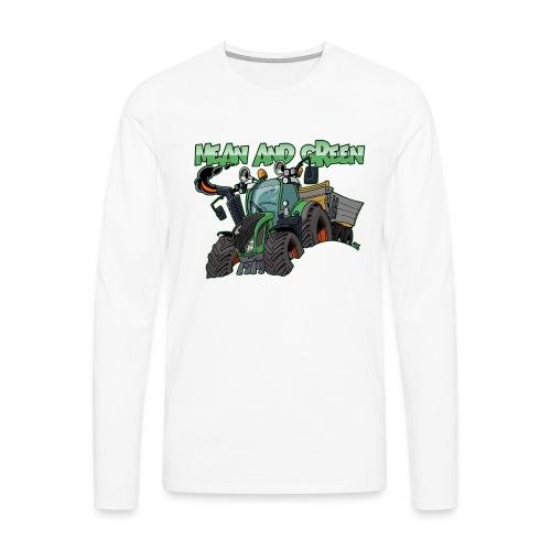 F 718Vario mean and green - Mannen Premium shirt met lange mouwen