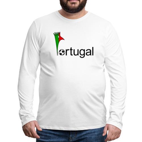 Galoloco Portugal 1 - T-shirt manches longues Premium Homme