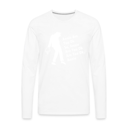 El rey del pop - Camiseta de manga larga premium hombre