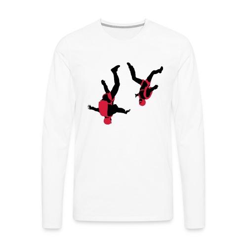 parachutisme Free Fly - T-shirt manches longues Premium Homme