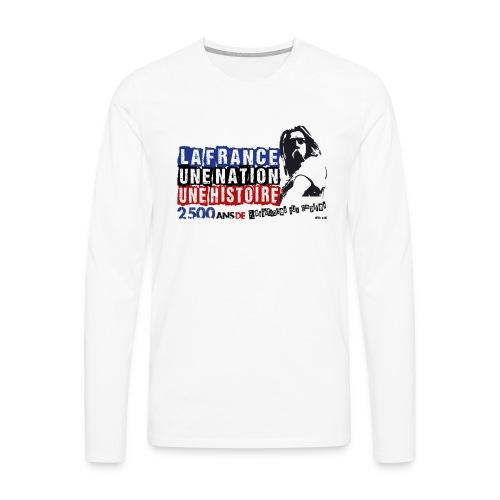 Vercingétorix - T-shirt manches longues Premium Homme