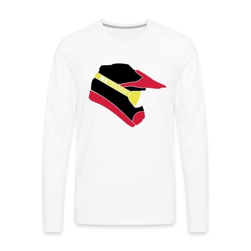 Motocross helmet vecto 3c - T-shirt manches longues Premium Homme