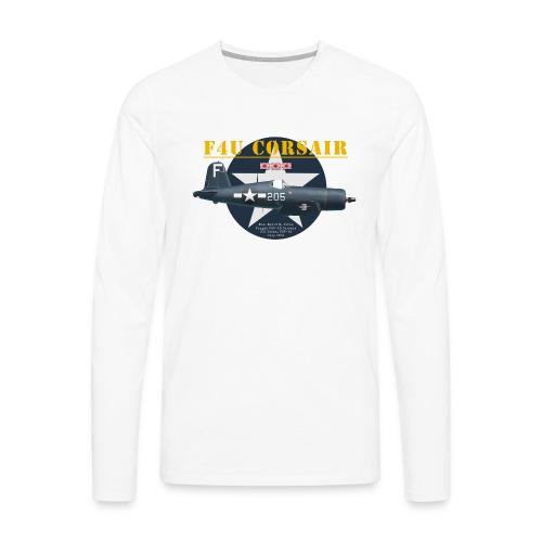 F4U Jeter VBF-83 - Men's Premium Longsleeve Shirt
