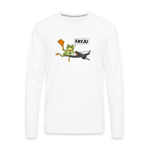 Amazing Frog Crossbow - Men's Premium Longsleeve Shirt
