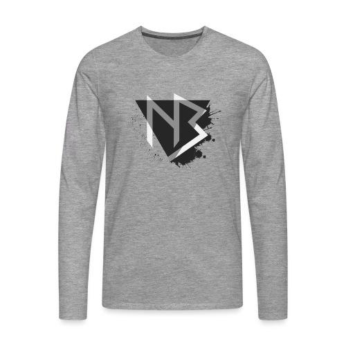 T-shirt NiKyBoX - Maglietta Premium a manica lunga da uomo