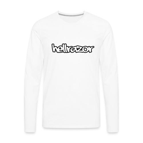 Hellrazor MK2 - Maglietta Premium a manica lunga da uomo