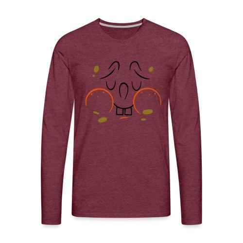 Bob - Mannen Premium shirt met lange mouwen