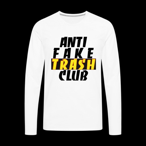 ANTI FAKE TRASH CLUB - Men's Premium Longsleeve Shirt