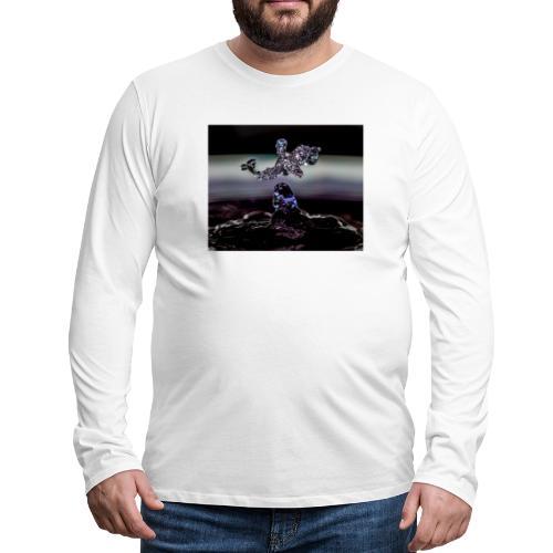 Delphin - Männer Premium Langarmshirt