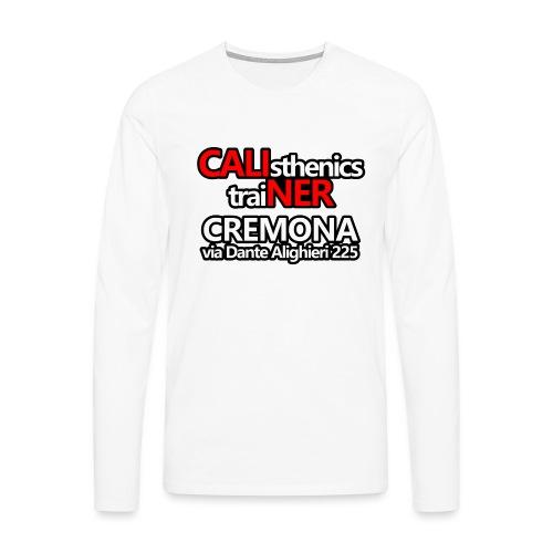 Caliner Cremona T-shirt - Maglietta Premium a manica lunga da uomo