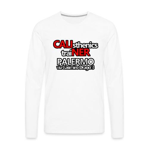 Caliner Palermo T-shirt - Maglietta Premium a manica lunga da uomo