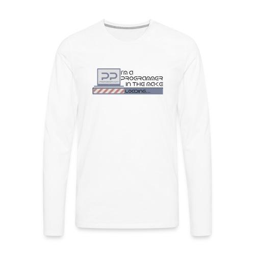 I m a programmer in the make - Mannen Premium shirt met lange mouwen