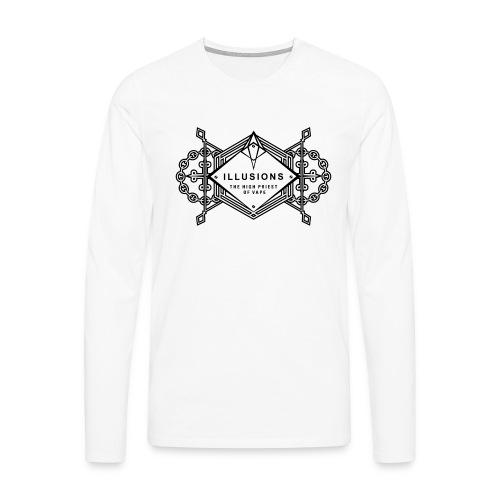 black crest - Männer Premium Langarmshirt