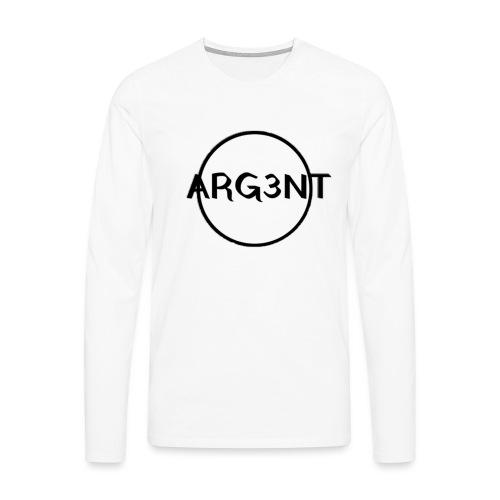 ARG3NT - T-shirt manches longues Premium Homme