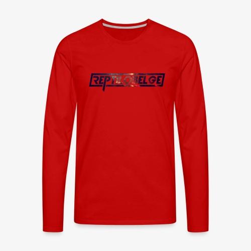 M1.2 Reptilobelge - T-shirt manches longues Premium Homme