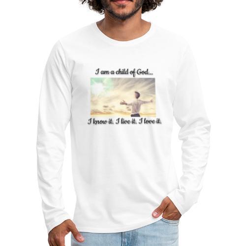 F1DD7146 7552 4064 992D 041EA7838A52 - Herre premium T-shirt med lange ærmer