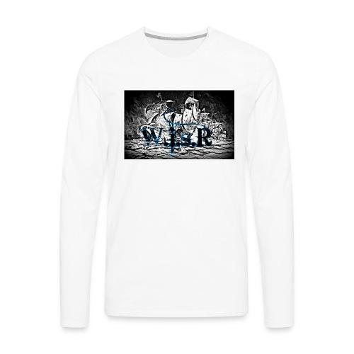 Naisten T-Paita - Miesten premium pitkähihainen t-paita
