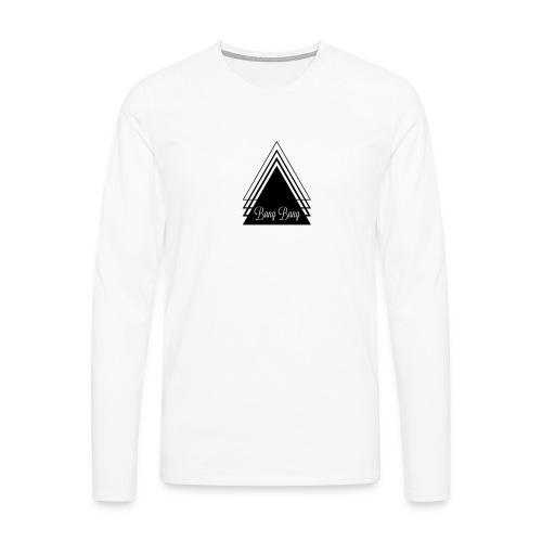 BANG - Koszulka męska Premium z długim rękawem
