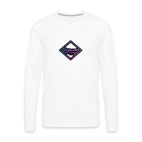 jordan sennior logo - Men's Premium Longsleeve Shirt